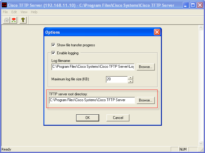 TFTP CISCO GRATUIT SERVER TÉLÉCHARGER
