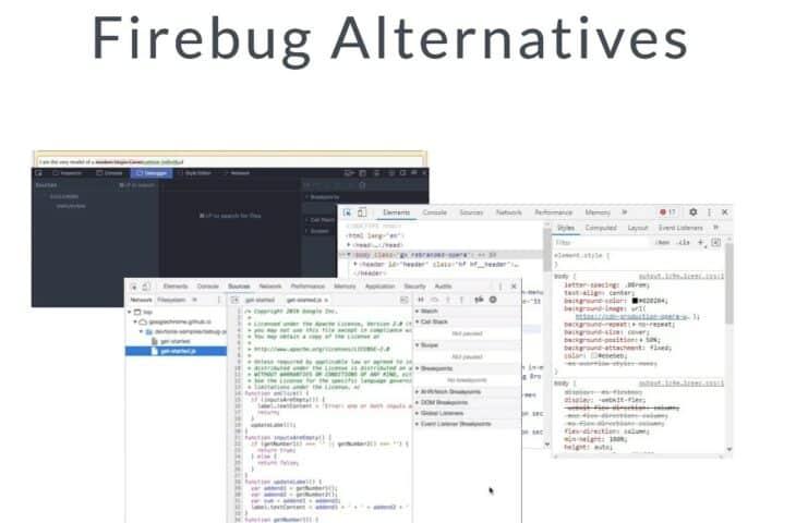 Firebug Alternatives