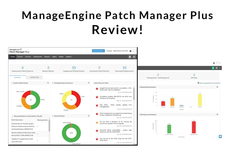 ManageEngine Patch Manager plus review