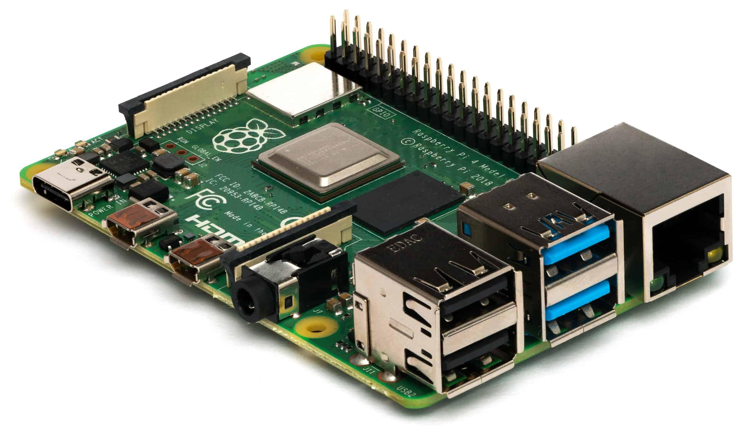 Raspberry Pi 4 Model B - Side