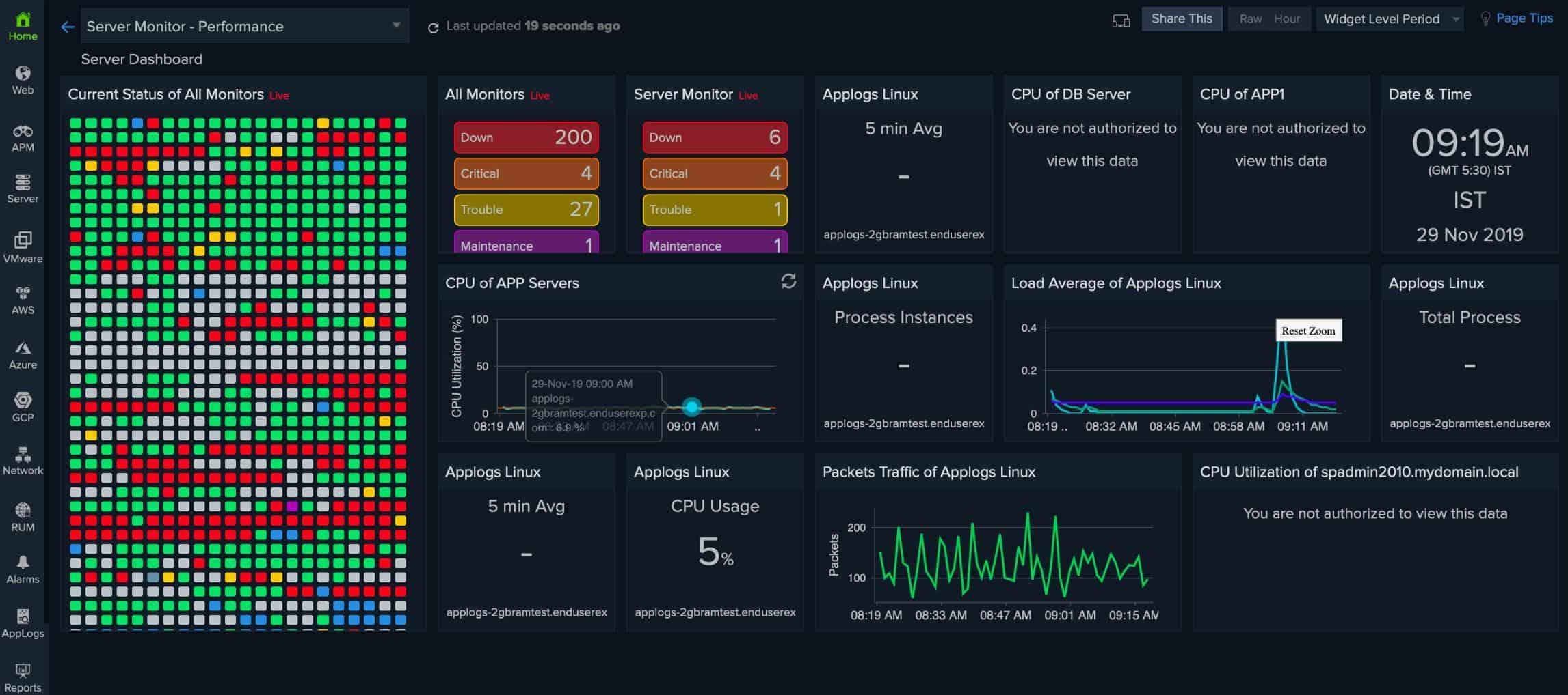 Site24x7 Storage Monitoring