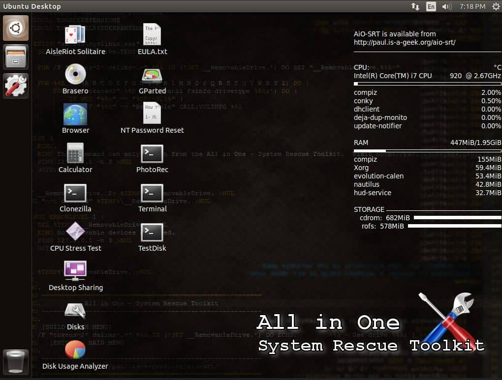 All-in-One System Rescue Toolkit Review - PC & Network