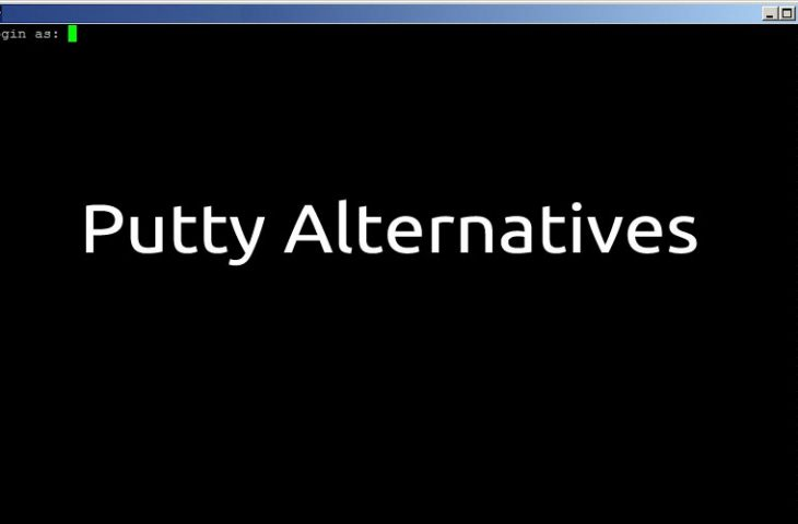 alternatives to putty for ssh