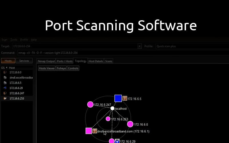 Best Port Scanning Software & Tools for Windows, Linux and Online 2019