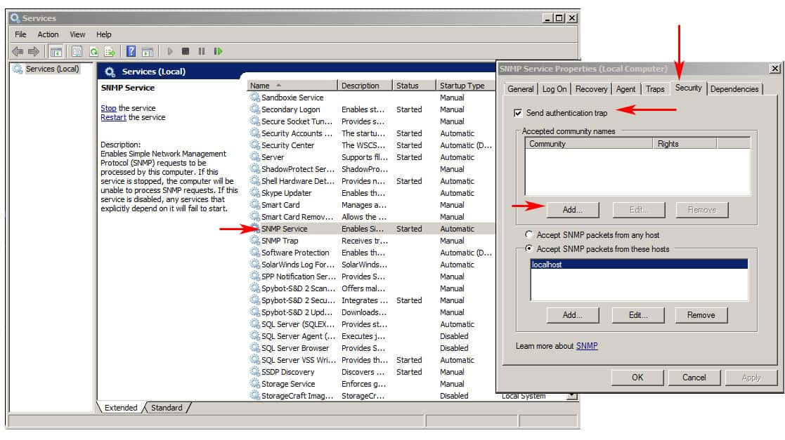 snmp notes Overview and basic concepts[edit] principle of snmp communication in typical snmp uses, one or more administrative computers, called managers, have the task of.
