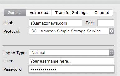 configuring the FileZilla client