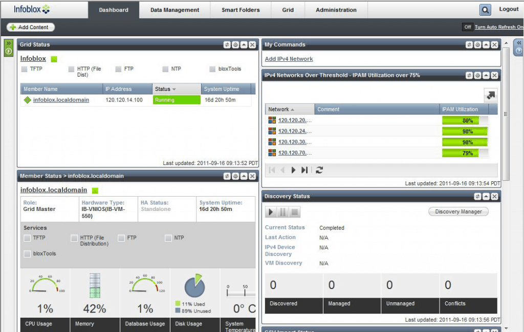 infoblox ipam screenshot