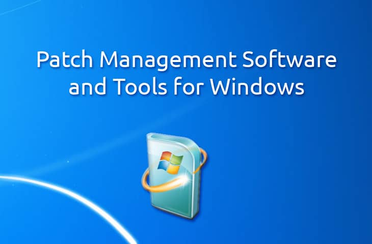 patch management software and tools