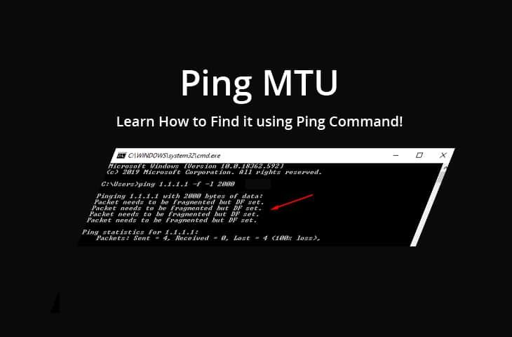 ping mtu tutorial