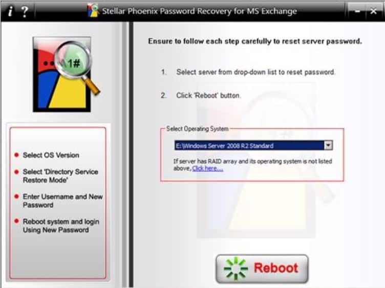 recovery windows server password cd