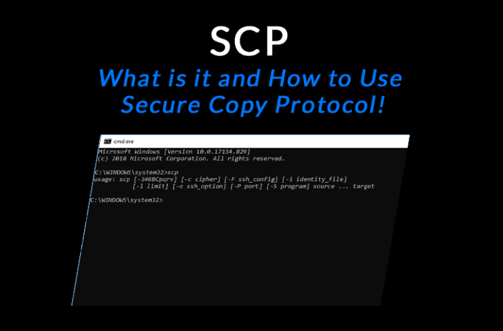scp what is secure copy protocol and tutorial