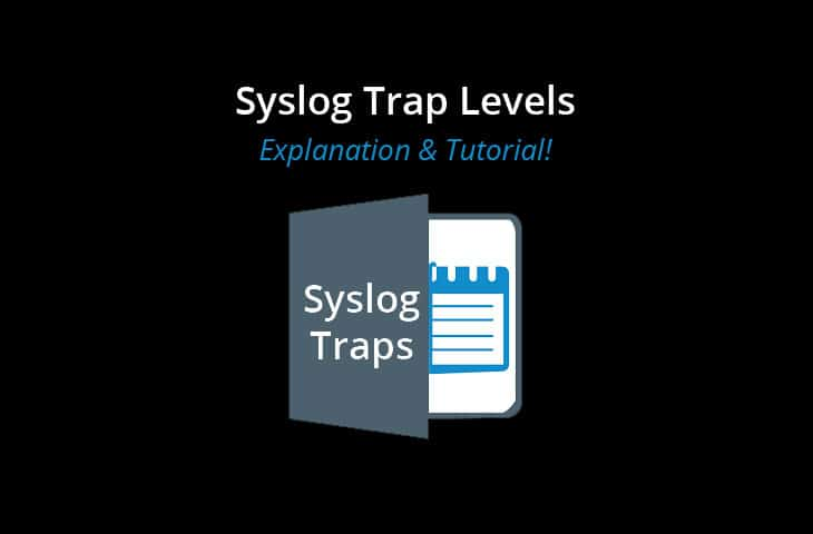 syslog trap levels