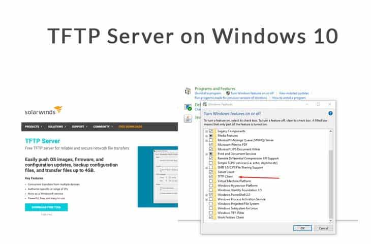 tftp server windows 10 tutorial