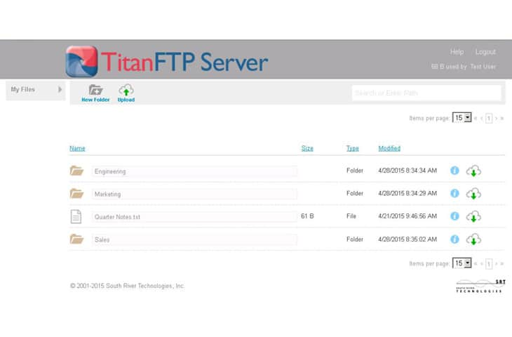 titan sftp review
