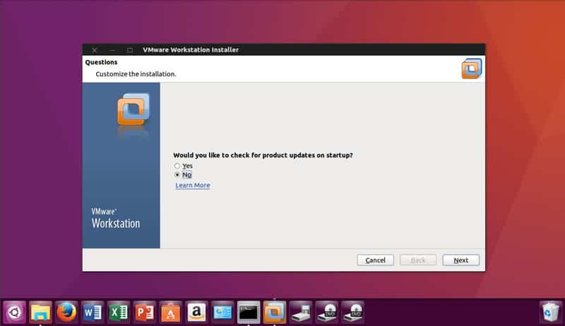 vmware ubuntu step-3