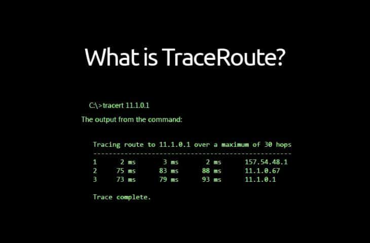 What is TraceRoute and How to Use it for Hop-by-Hop Analysis